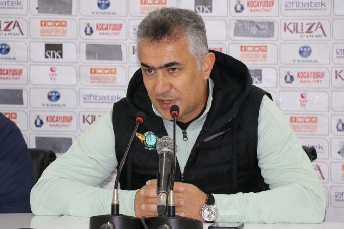 Akhisarspor Teknik Direktörü'nün Açıklamaları