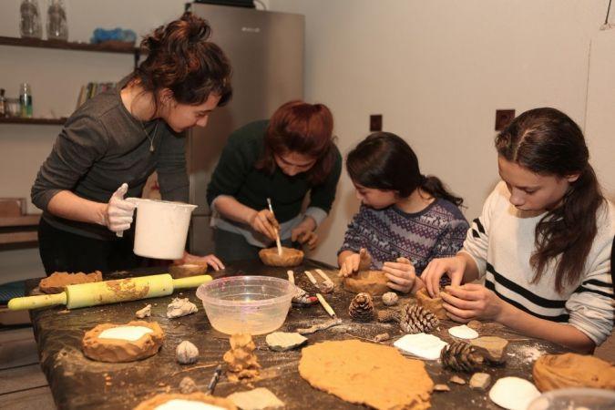 Misili Çocuklar Sanatçılarla Atölyede Buluşma Fırsatı Buldu