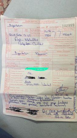 Patenli  Gence 598 Lira Para Cezası