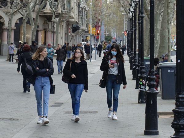 İspanya'da Korona Virüsü Salgınından 1 Günde 769 Ölüm Oldu