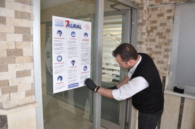 Afyonkarahisar OSB'de Korona Virüsü Salgınına Karşı Farkındalık Çalışması