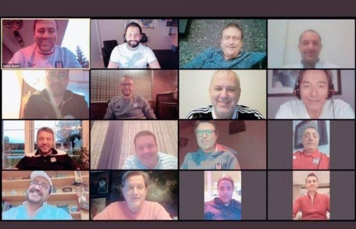 Beşiktaş Yönetim Kurulu Video Konferans İle Görüştü
