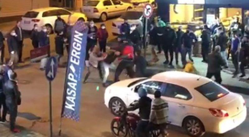 İstanbul'da Vatandaşlar Birbirine Girdi