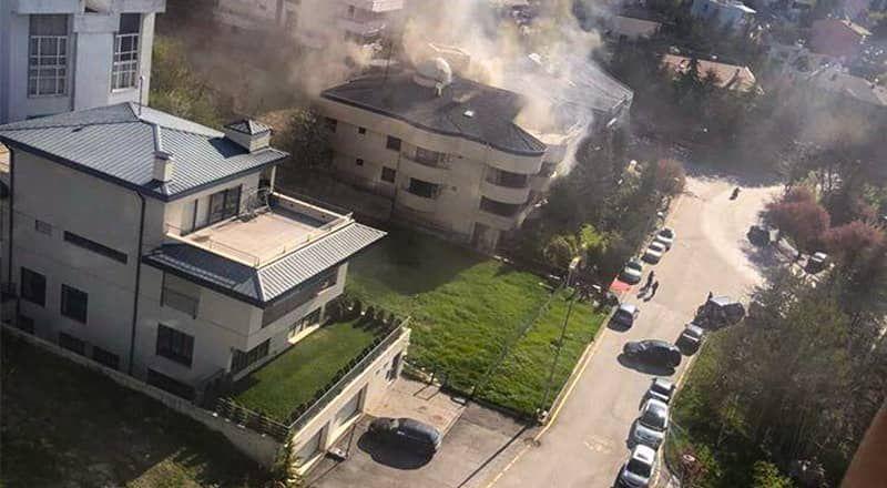 Ankara'da Yaşlı Bakım Evinde Yangın Çıktı