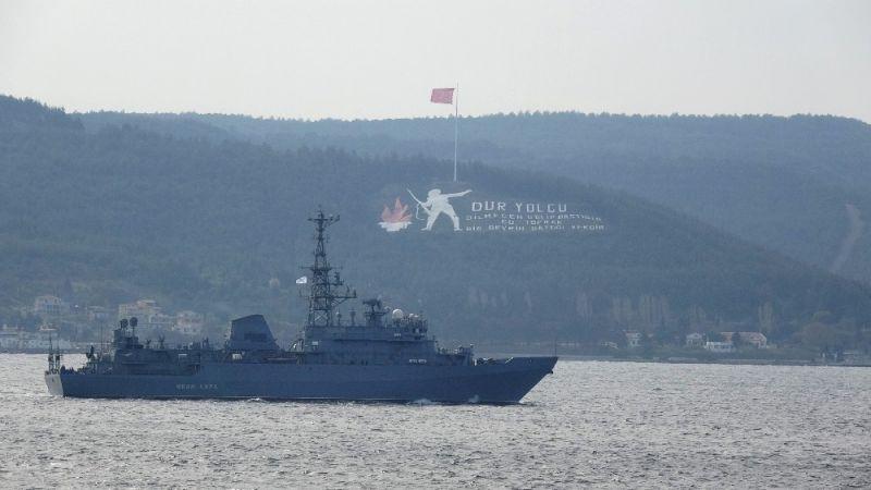 Rus Keşif Gemisi Türk Sularında