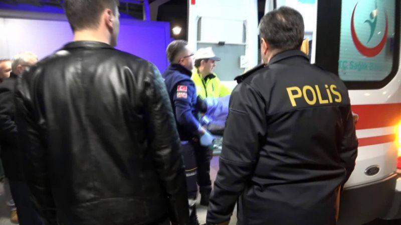 Kırmızı ışıkta geçince polis memurunu ezdi