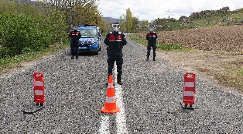Köyde pozitif vakalar artınca karantina uzatıldı