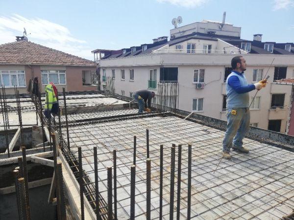 Hayatın normale dönmeye başlamasıyla inşaat çalışmaları da hızlandı