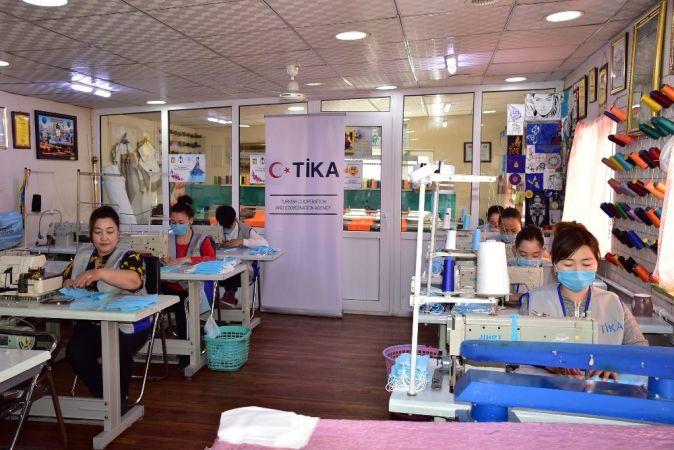 TİKA'dan Moğolistan'a maske desteği