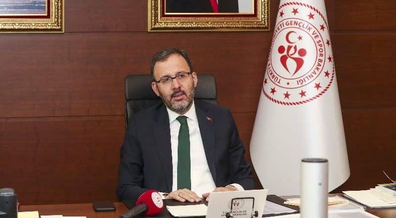 Bakan Kasapoğlu'dan ziyaret