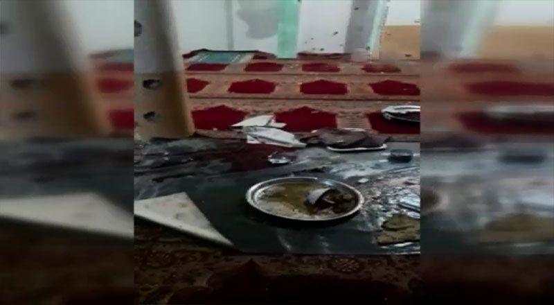 Afganistan'da camiye saldırı!
