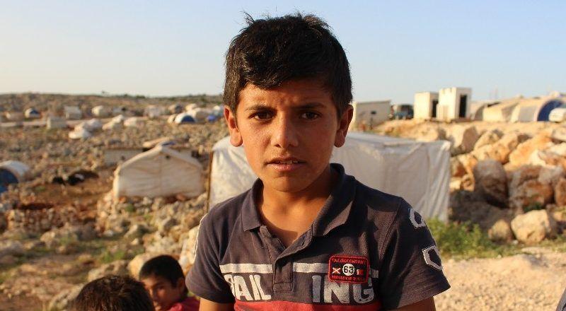 Suriyeli çocuklar bayramı buruk sevinçle bekliyor
