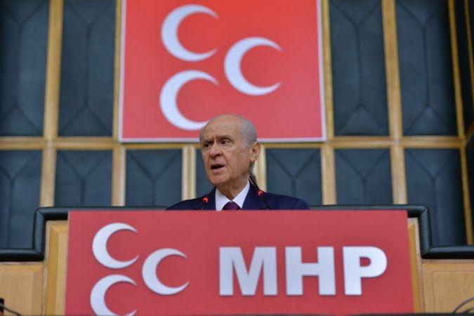 MHP'de partiler arası bayramlaşma video konferans yoluyla yapıldı