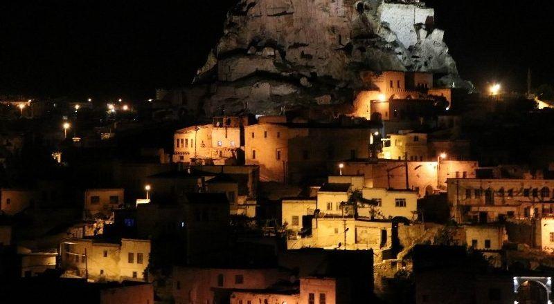 Kapadokya gece görüntüsüyle hayran bıraktı