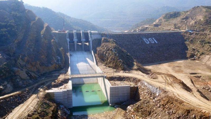 Çine Gökbel Barajı ile zirai alan sulanacak