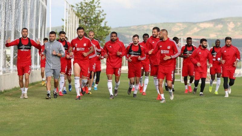 Sivasspor Denizlispor maçının hazırlıklarını sürdürüyor