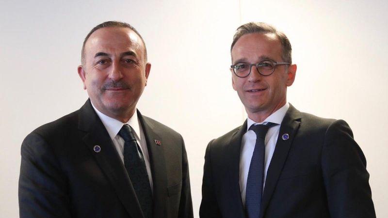 Çavuşoğlu, Almanya Dışişleri Bakanı ile görüştü