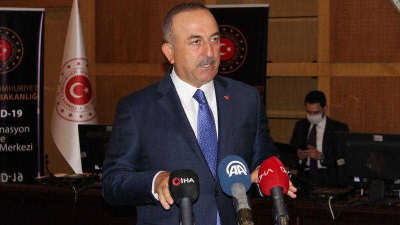 Bakan Çavuşoğlu Kuveyt Emiri Es-Sabah tarafından kabul edildi | Son Dakika Haber