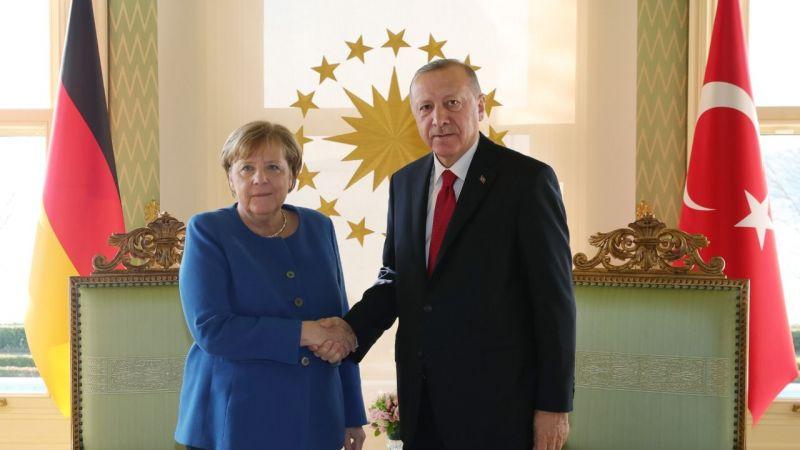Erdoğan ile Merkel videokonferansla görüştü