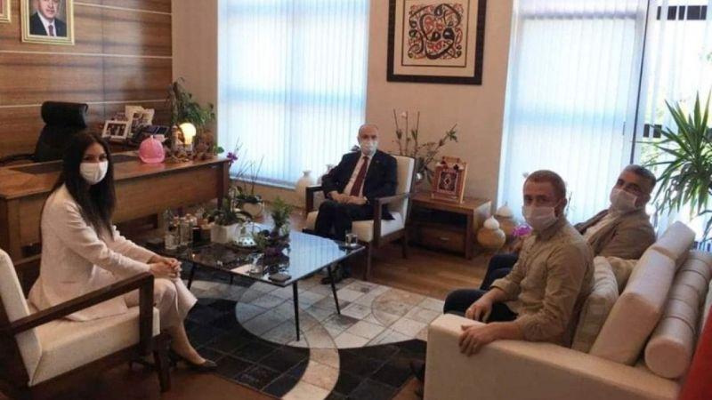 Düzce Belediye Başkanı Ankara'da siyasetin önemli isimleri ile bir araya geldi