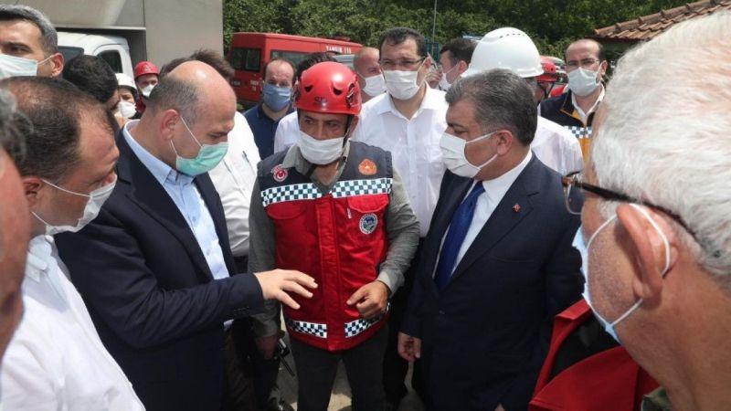 """Soylu'dan fabrika patlamasıyla ilgili açıklama: """"7 kişilik kaybımız var"""""""