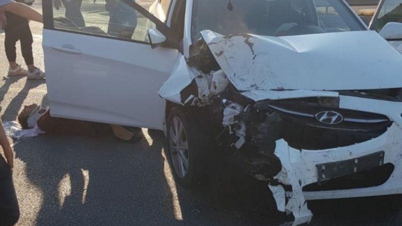 Samsun'da yaşanan trafik kazasında 4  kişi yaralandı