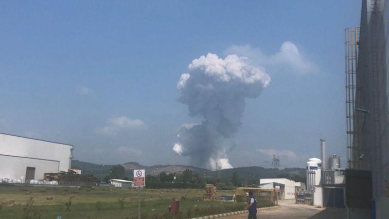 Sakarya'da havai fişek fabrikasında şiddetli patlama!