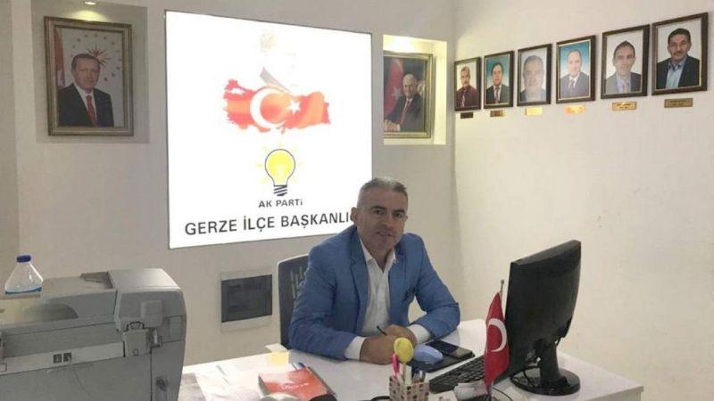 AK Parti Gerze İlçe Başkanı istifa etti
