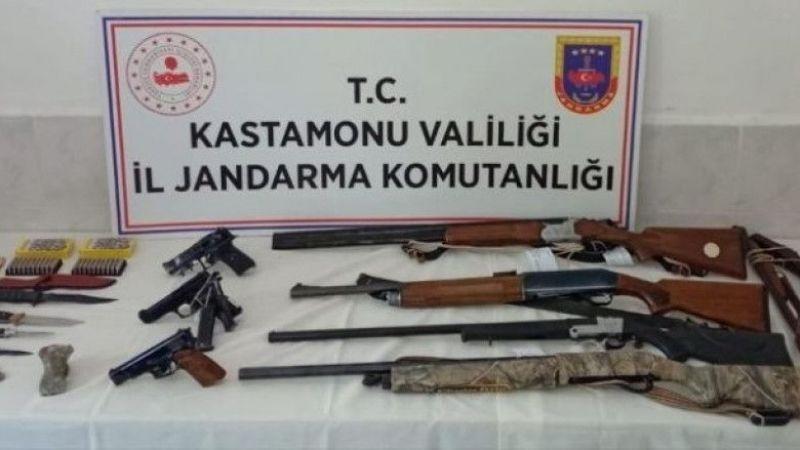 Silah kaçakçılarına operasyon: 9 gözaltı