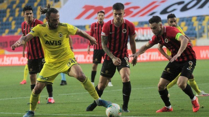 Gençlerbirliği: 0 - Fenerbahçe: 0 (İlk yarı)