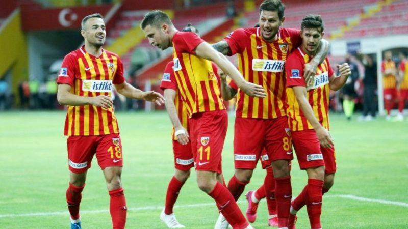Kayserispor'da seri 3 maça çıktı