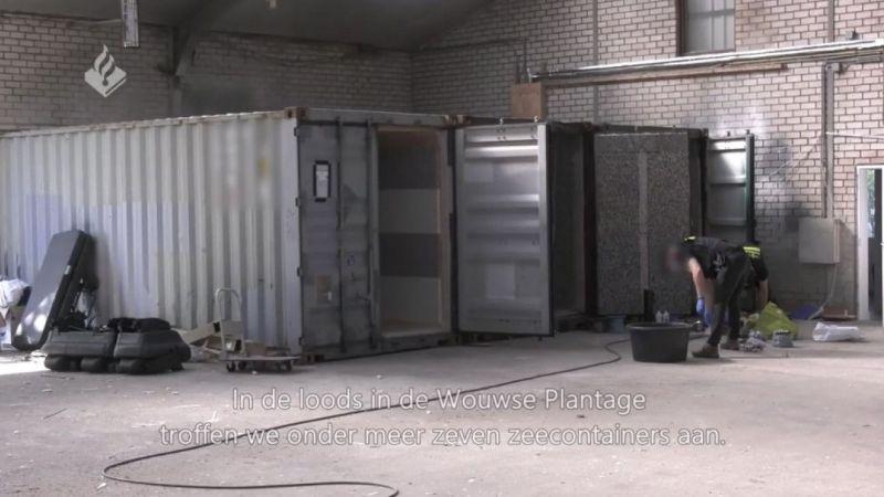 Hollanda'da işkence odaları bulundu