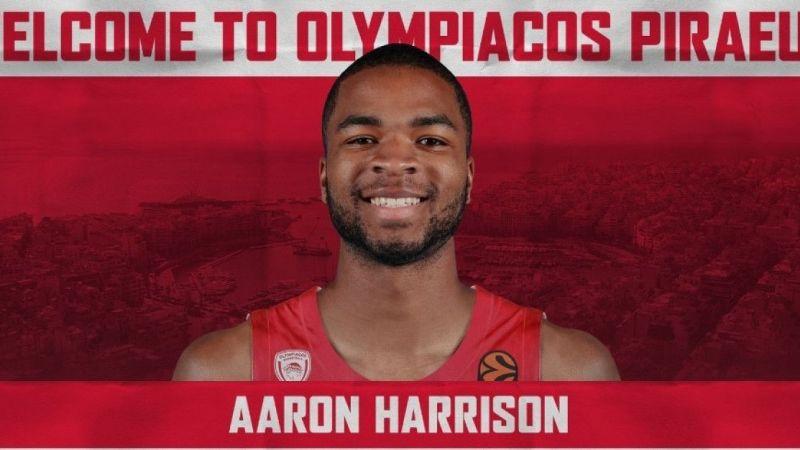 Olympiakos, Galatasaray'da forma giyen Harrison'ı transfer etti