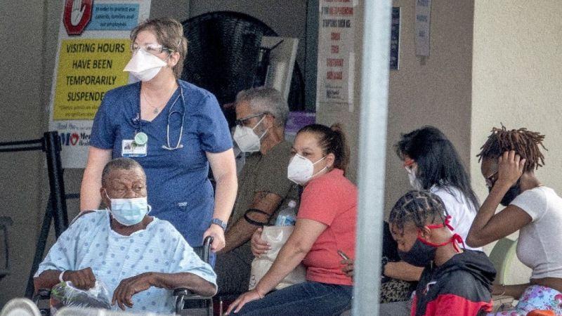Florida'daki 48 hastanenin yoğun bakımında yer kalmadı