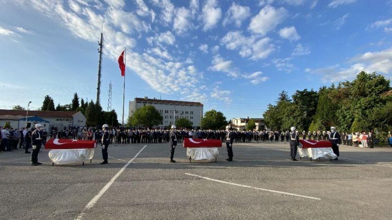 Şehit askerlerin cenazeleri törenle memleketlerine uğurlandı