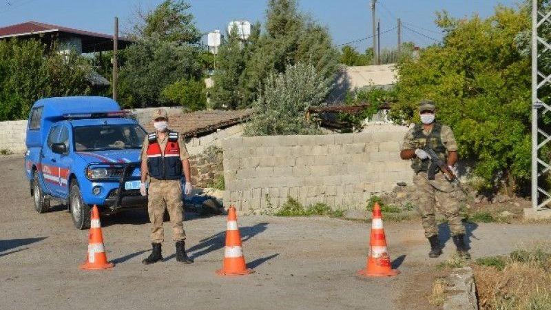 Hatay'da bir mahalle karantina altına alındı