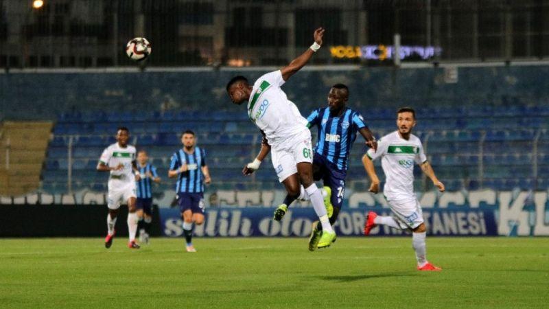 Adana Demirspor: 0 - Bursaspor: 0 (İlk yarı sonucu)