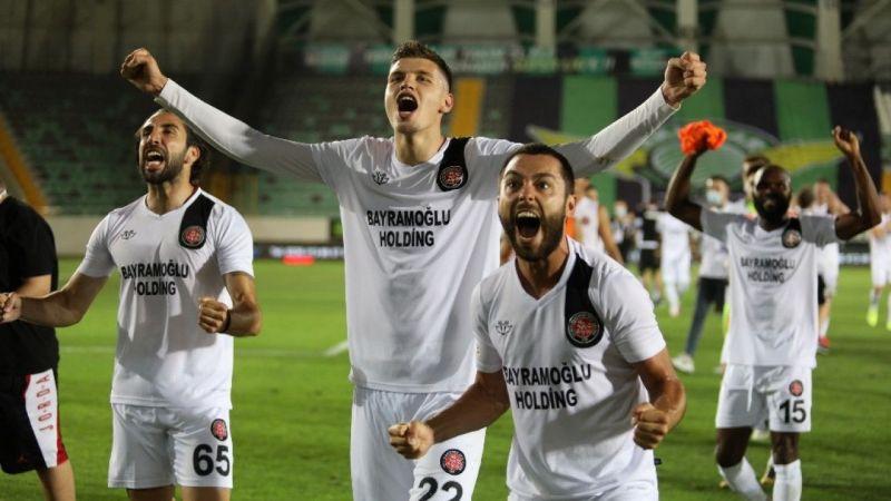 Akhisarpor: 0 - Fatih Karagümrük: 1