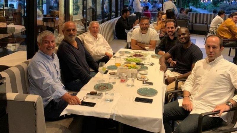 Aziz Yıldırım ve Moussa Sow yemekte buluştu