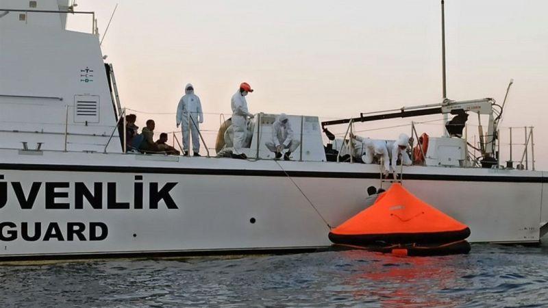 Marmaris'te 61 sığınmacıyı Türk Sahil Güvenlik ekipleri kurtardı