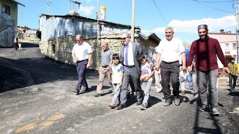 Sığırcı köyü ilk kez köy içi asfaltla buluştu