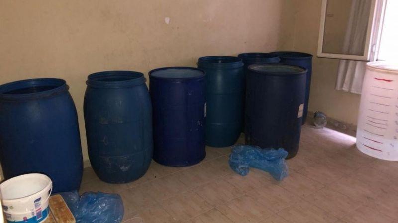 Adana'da bin 590 litre kaçak içki