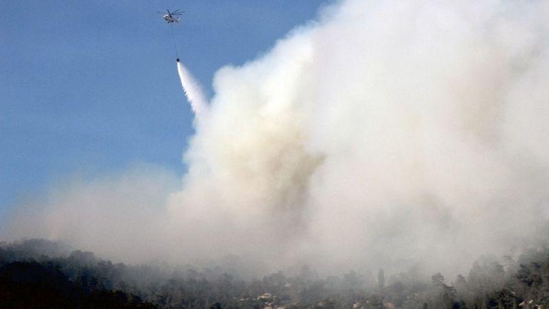 Aydın'da çıkan orman yangını 23 saattir devam ediyor
