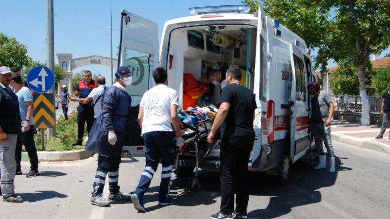 Çanakkale'de trafik kazası: 1 ağır yaralı