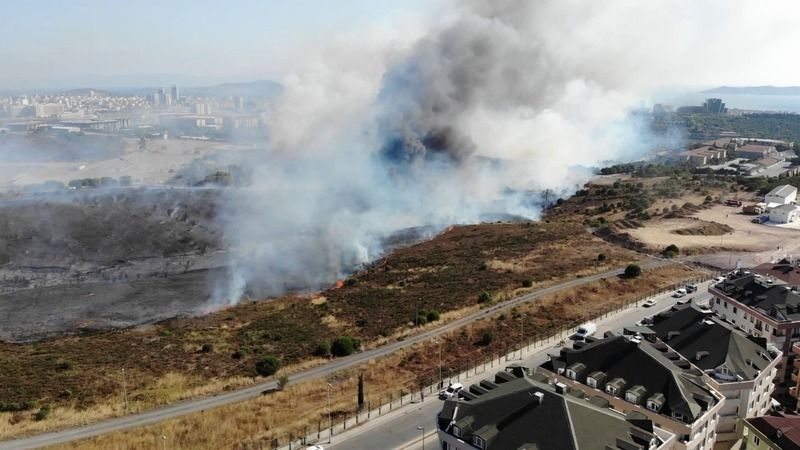 MSB'den askeri arazide çıkan yangına ilişkin açıklama