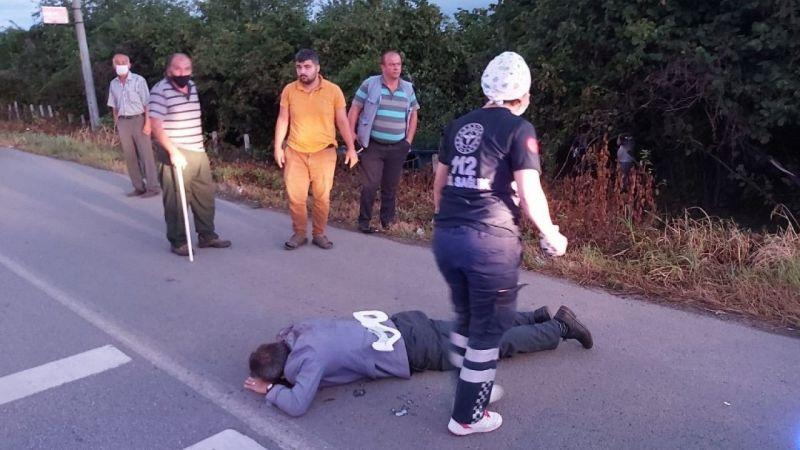 Samsun'da feci kaza! 2 kişi camdan fırladı