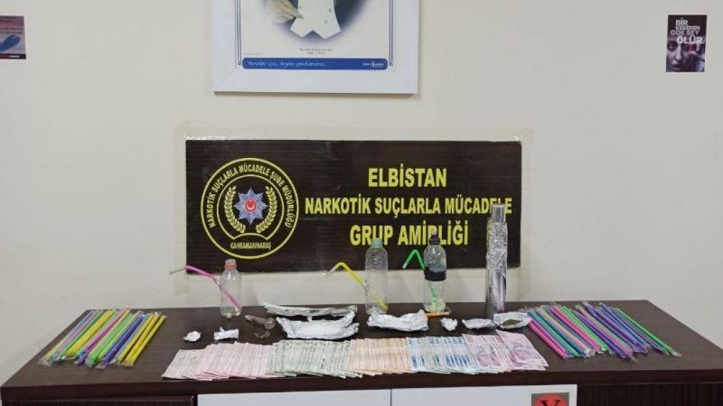 Kahramanmaraş'ta uyuşturucu operasyonunda 2 tutuklama