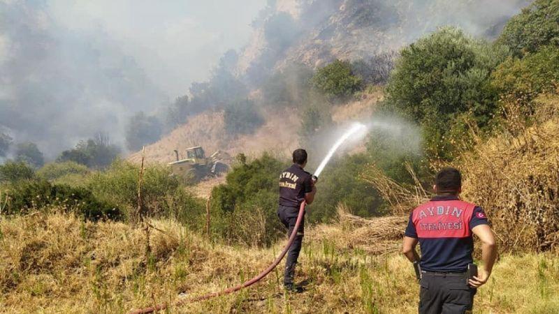 Aydın'daki yangın kontrol altına alındı