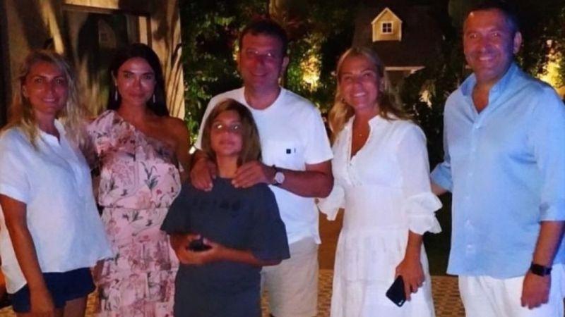Ekrem İmamoğlu Bodrum'da tatilde