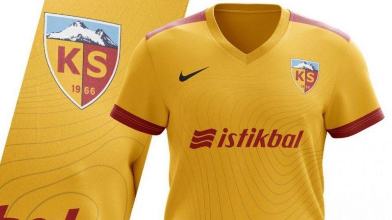 Hes Kablo Kayserispor'un yeni forması belli oldu